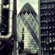 London financial district — Stock Photo #39928731