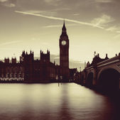 London in der abenddämmerung — Stockfoto