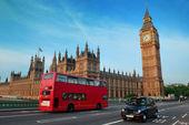 Bus in London — Stock Photo