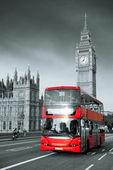 ônibus em londres — Foto Stock