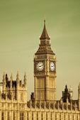 在伦敦的大笨钟 — 图库照片
