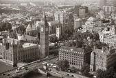伦敦空中 — 图库照片