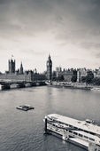 London Thames River — Foto Stock