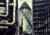 London financial district — Stock Photo