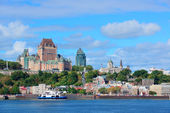 Quebec City-skyline — Stockfoto