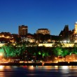 Stock Photo: Quebec City at night