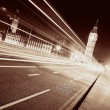 light trail — Stock Photo