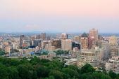 Montreal city skyline — Stock Photo