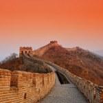 Great Wall sunset — Stock Photo #48286013