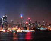 New York City Manhattan midtown skyline — Photo