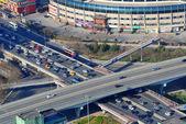 Beijing aerial view — Stock Photo