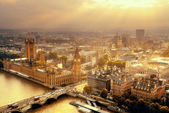 Westminster aerial — Stock Photo