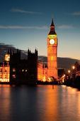 Londen in de schemering — Stockfoto