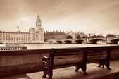 Thames River Waterfront — Stock Photo