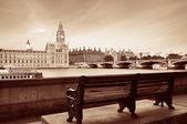Thames River Waterfront — Stockfoto