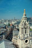 London rooftop view — Foto Stock
