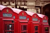 London Telephone box — Foto de Stock