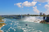 Niagara Falls Panorama — Stock Photo