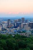Skyline de la ciudad de montreal — Foto de Stock