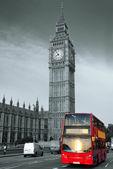 Bus in London — Stockfoto