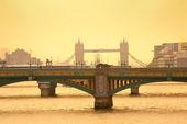 London-silhouette — Stockfoto
