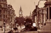 Street view of Trafalgar Square — Photo