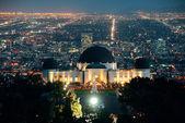 Los Angeles at night — Stock Photo