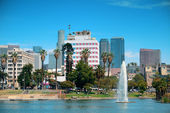 Los Angeles downtown — Stock Photo