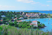 St John bay panorama  — Stock Photo