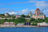 Quebec City skyline — Stockfoto