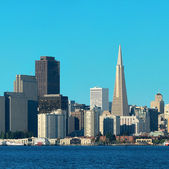 San francisco skyline — Stockfoto