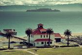 Ilha de alcatraz — Foto Stock