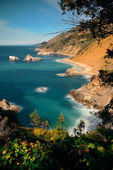 Big Sur in moonlight — Stock Photo