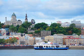 Quebec City skyline — Stock fotografie