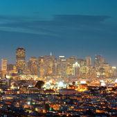 Skyline de são francisco — Foto Stock
