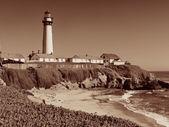 ピジョン ポイント灯台 — ストック写真