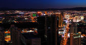 Urban City Night panorama — Stock Photo