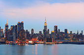 New York City evening — Stockfoto
