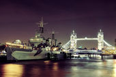Thames River London — Stockfoto