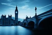 London at dusk — Stock Photo