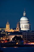 St Pauls Cathedral London — 图库照片