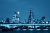 London over river — Stock Photo