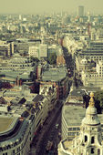 London rooftop view — Foto de Stock