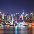 MORDERN CITY NIGHT SCENE — Stock Photo #5568092