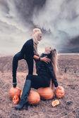 Halloween-party. — Stockfoto