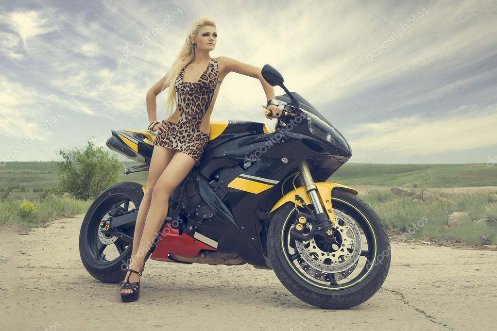 Moto Girls — Stock Photo © makovnv #41741649