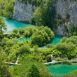 plitvice lakes national park, croatia — Stock Photo