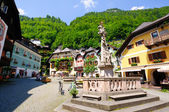 Market Square in Hallstatt, Austria — Stock Photo