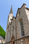 Evangelical Church in Hallstatt, Austria — Stock Photo