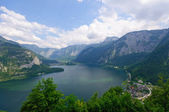 Alps and the Lake Hallstatt, Austria — Stock Photo